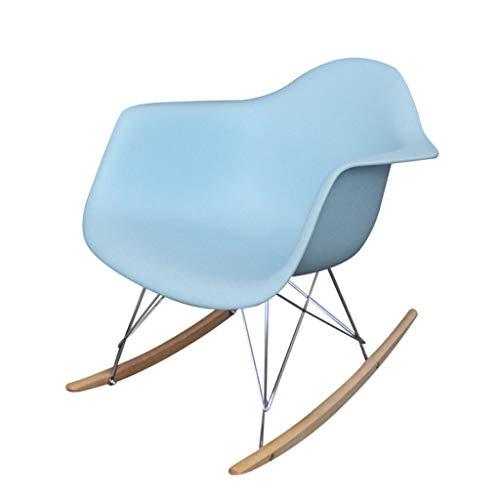 Barstoolri schommelstoel, veiligheid Scandinavische stijl, ergonomie, vrijetijdsstoel voor woonkamer, keuken random color