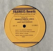 Poems Of Federico Garcia Lorca LP