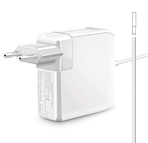Zasunky Cargador Mac Book Air 60W compatible con Mac Pro 11'' 13'' 15'' 2012 2013 2014 2015 Cargador MS 1 para Mac Pro Retina A1425, A1502, A1424 A1290,A1343,A1226 y Plus Modelos Mac