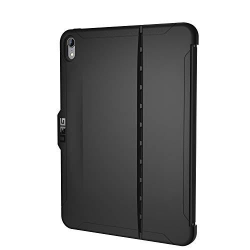 Urban Armor Gear Scout para Apple iPad Pro 11 (2018) Funda con estándar militar estadounidense Case [requiere Apple Smart Keyboard Folio,  soporte del lápiz táctil] - negro