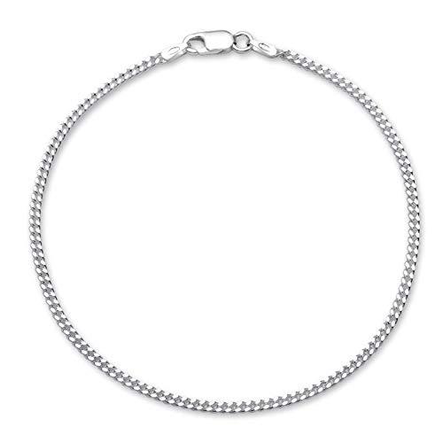 925 Silberarmband: Panzerarmband Silber 2mm breit - Länge frei wählbar PA0020