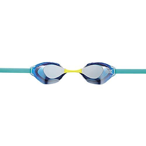 arena(アリーナ) 水泳 ゴーグル グラス  ノンクッションタイプ FINA承認 フリーサイズ AGL-130M シルバー×...