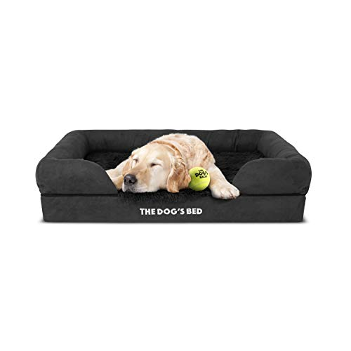 The Dog's Bed Premium Plush Orthopedic Memory Foam Waterproof Dog Bed