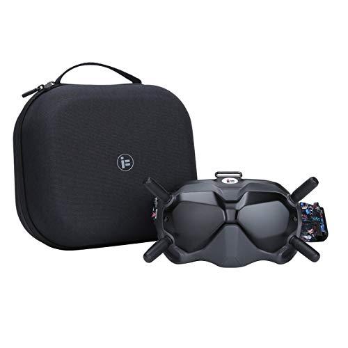 DJFEI Custodia Protettiva da Viaggio Rigida per Drone FPV Combo, Custodia da Viaggio Durevole Portatile Impermeabile da Viaggio Custodia Protettiva per DJI FPV Goggle o Controller