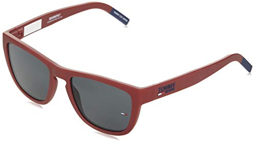 Tommy Hilfiger TJ 0002/S gafas de sol, ROJO MATE, 54 Unisex Adulto