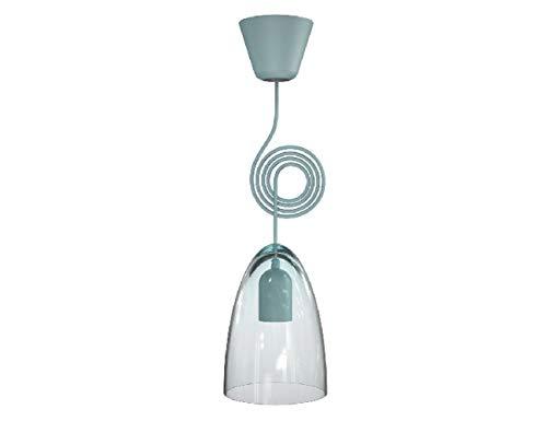 Nordlux Funk Jubi - Lámpara de techo, color turquesa
