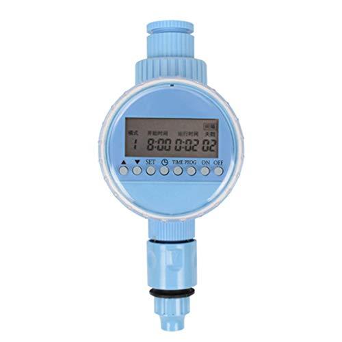 XUNXI Temporizador de riego, Controlador de riego Inteligente para jardín Temporizador de riego Sistema de Agua del Grifo de la Manguera del césped Digital Medidor del Monitor de riego del hogar
