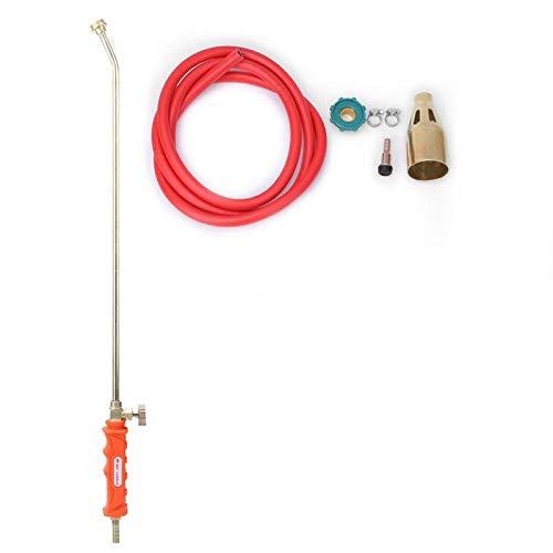 DAUERHAFT Válvula de fundición a presión de precisión, Interruptor único, Resistencia al óxido, Pistola de Llama de Gas líquido, para Barbacoa doméstica para Fuego(Single Switch)