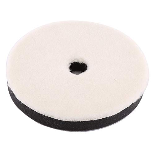 Esenlong 3 almohadillas de esponja de lana para pulir, para pulir, pulir, para pulidor de coche (6 pulgadas)