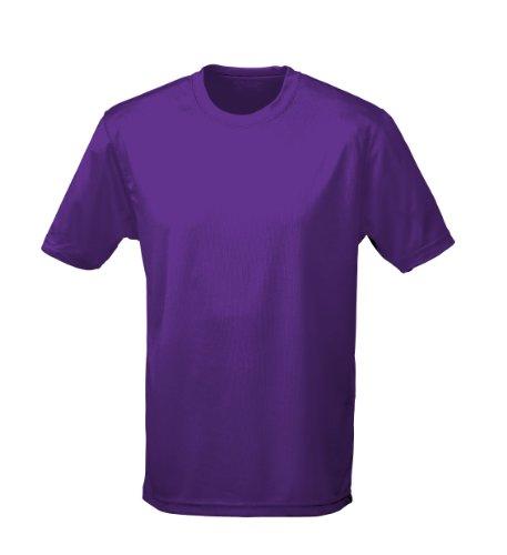 T shirt AWDis à manches courtes cool pour homme - Violet - X-Large