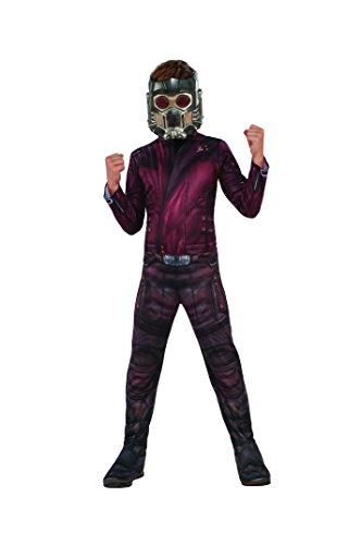 Marvel–i-630775l–Kostüm Klassische Starlord mit couvre-bottes/Maske–8-10 Jahre