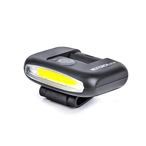 Nextorch Mini lampe frontale LED ultra lumineuse mains libres rechargeable 170 lumens multifonction mode rouge blanc pour la pêche, la course, l'escalade, le vélo (avec 4 accessoires)