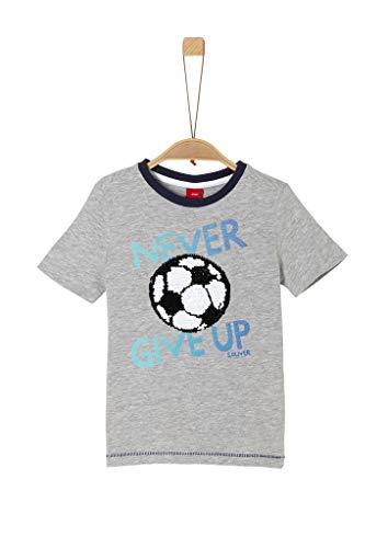 s.Oliver Junior Jungen Kurzarm T-Shirt, 9400, 116/122