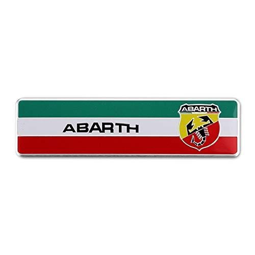 Calcomanía de aleación de aluminio para Fiat Abarth 500 Punto Stilo Bravo...