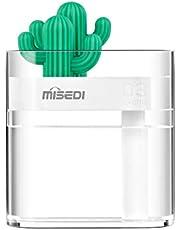 卓上加湿器 MISEDI 加湿器 超音波式 空気清浄機 最新の クリスタル 加湿器 静音 一年間の保証付き