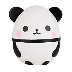 Material: PU Foam environmental protection materials, non-toxic Package: 1pcs Squishies Panda Egg. Size: 10.5cm x 10cm x 12cm. Color: as the picture show. Warning: Not suitable for children under 36 months. Small parts. Choking hazard. Tips: PU mater...