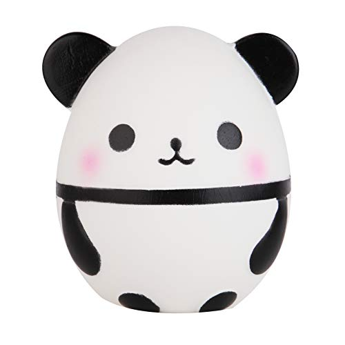 Anboor Squishies Panda Kawaii Egg Mini Slow Steps Squeeze Toy Slow Rising Squishies Anti-Stress Toy for Kids Adults (10.5 * 10 * 12 cm, Pack of 1)