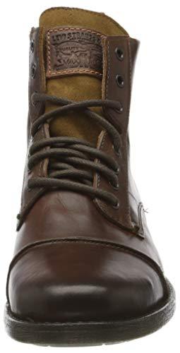 Levi's Herren Emerson Biker Boots, Braun - 4
