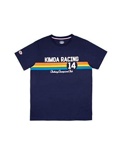 Kimoa Racing 14 Camiseta, Unisex, Azul Oscuro, M