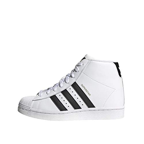 adidas Superstar UP W, Scarpe da Ginnastica Donna, Ftwr White/Core Black/Gold Met, 38 EU
