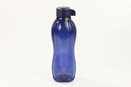 TUPPERWARE To Go Eco 500 ml dunkelblau Drehverschluss Trinkflasche Öko Ecoflasche