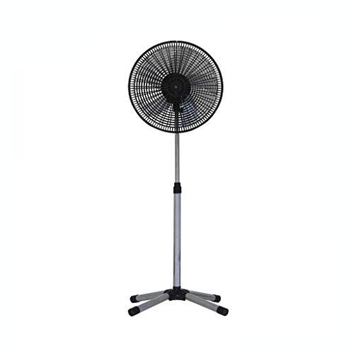 C-J-Xin 16 pulgadas gris Ventilador, creatividad extremidades piso del ventilador de bajo ruido del motor de cobre, Oscilación, seguro for los bebés Seguridad de la parrilla de malla Hogar Ventiladore