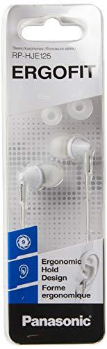 Panasonic RP-HJE125 In-Ear-Kopfhörer, 10-24000 Hz, 200 MW, 97 dB, 16 & Omega (Importierte Version)