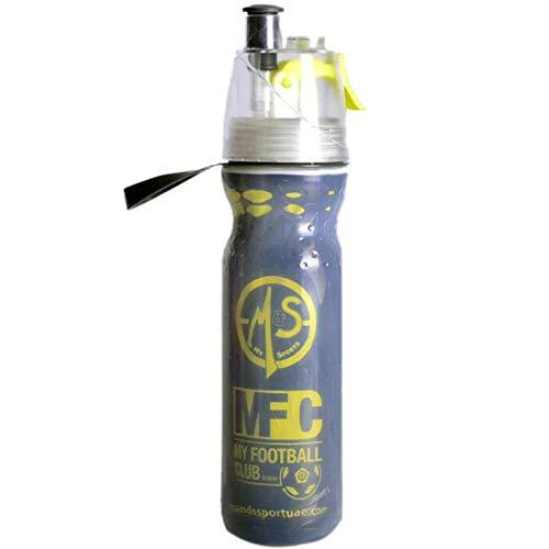 N/ A 500 Ml Tragbarer Pe-Sprühbecher Outdoor-Sport-Sprühflasche Double Cold Spray Cup