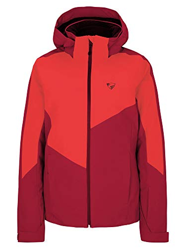 Ziener Damen PELDA Ski Snowboard-Jacke   Atmungsaktiv, Wasserdicht, red Pepper, 38