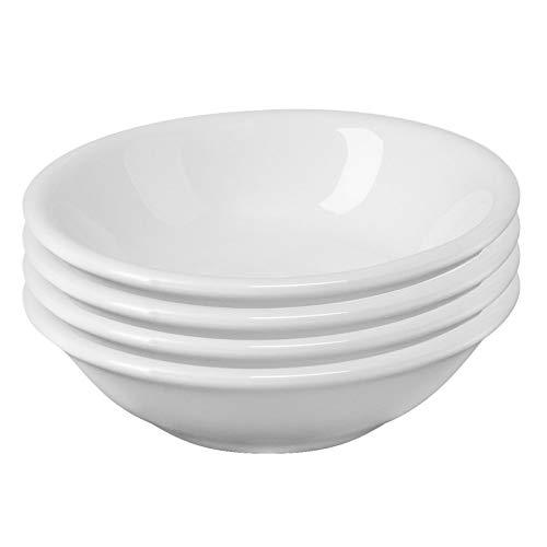 Westmark 4 Ciotole in ceramica, Rotondo, Piccolo, Dimensioni: ø 7 x 2 cm, Ceramica, Tapas + Friends, Bianco, 6975224C