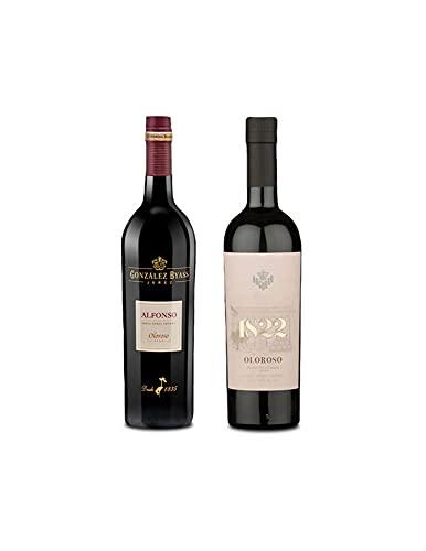 Mezclanza Exclusiva - Vino oloroso Alfonso de 75 cl y Vino Oloroso 1822 de 50 cl