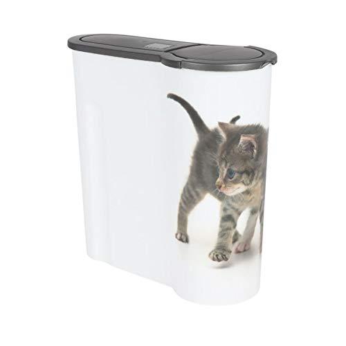 BURI Katzen Futterdose 4L Aufbewahrungsdose Katzenfutter Trockenfutter Vorratsdose