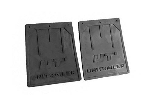 UNITRAILER Spritzlappen-Set klein für PKW-Anhänger, für 13''- und 14''-Kotflügel