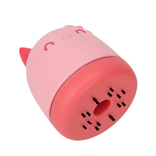 Aspiradora, fácil de transportar, fácil de observar, alta eficiencia, materiales de alta calidad, aspiradora de uñas, tienda de manicura, salón, tienda para el hogar, salón de(Pink)