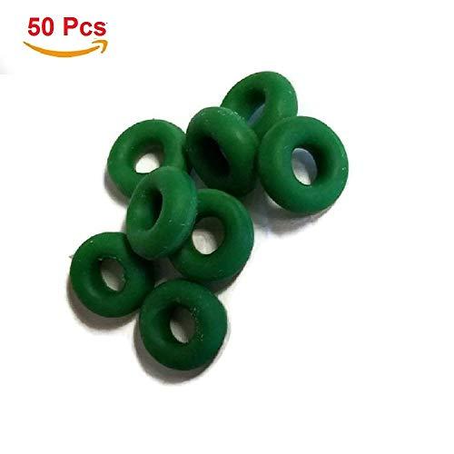 MSPowerstrange Bump Rings for Bump Keys Green, 50 Pices