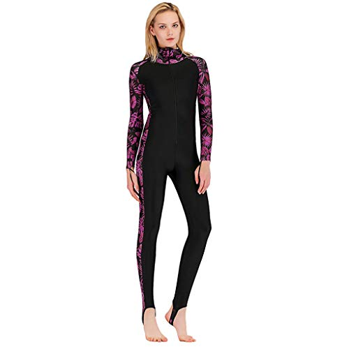 5MM Sunblock Neoprenanzug für Frauen Serria® Anti-UV-Tauchanzug Einteiliger Schwimm-Neoprenanzug Warme Schnorchelkleidung für Damen (S)