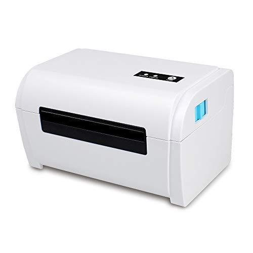 ZUKN Imprimante D'étiquettes Thermique Portable Imprimante D'étiquettes USB Imprimante D'étiquettes USB avec Porte-Étiquette Restaurant Adapté, Vente Au Détail, Livraison Express
