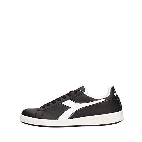 Diadora 101.160281/AI Sneakers Uomo Ecopelle Black Black 44