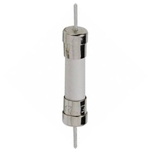 Pack of 5, T10A250V, T10A 250V, T10 250V Axial, Ceramic Fuses 6X30mm (1/4 inch x 1-1/4 inch), 10 Amp (10A) 250V, Slow Blow (Time Delay)