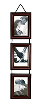 kieragrace PH44048-8 Classic Traditional Lucy Picture luxury-frames 5  x 7  Dark Brown 3 Count