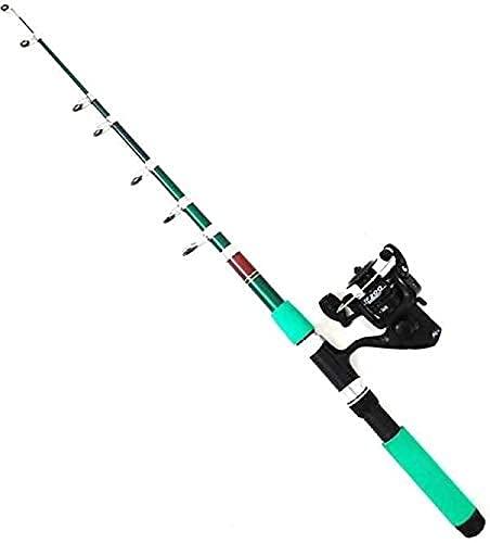 SKA 6 Ft. 1.8 Meter Telescopic Fishing Rod and Reel Set