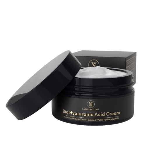 Crema Facial de Acido Hialuronico ORGÁNICO 100ml - Vegano de Alta Cal