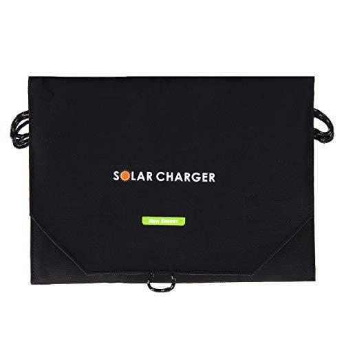 Luoshan 20W 4A MAX 2 Puertos de Salida Bolsa de Cargador de Panel Solar Plegable portátil for Samsung/HTC/Nokia/Teléfonos móviles/Otros Dispositivos