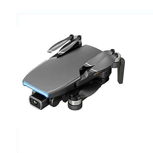 2021 Nuevo 6K GPS Drone 5G WiFi FPV Drones Contiene Gafas VR 35 Minutos de Distancia 5 km RC Quadcopter Cámara PTZ electrónica Profesional Motor sin escobillas,Gris,1*Battery