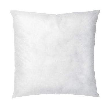 IZO All Supply Square Sham Stuffer Hypo-Allergenic Poly Pillow Form Insert, 18  L x 18  W (4 Pack)