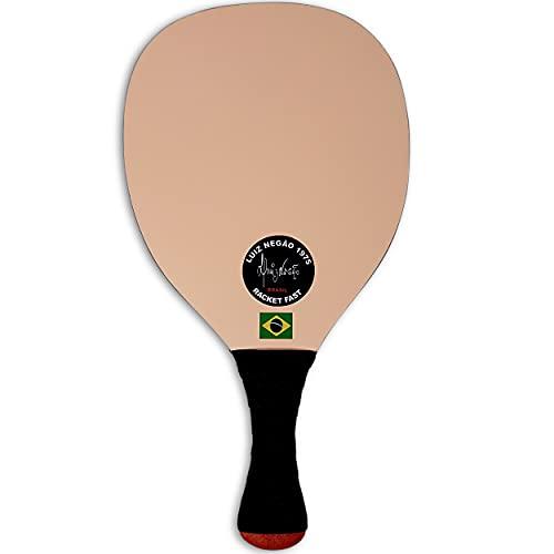 Frescobol One Luiz Negao Grega Paddle. Pro, Ultra Light Single Racquet Made in Brazil.