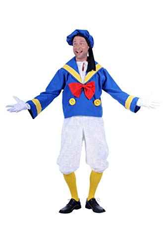 Thetru Disfraz de pato Donald de lujo – X pequeño 36/38 pulgadas