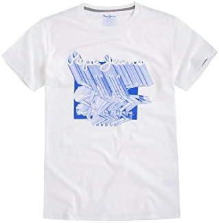 Pepe Jeans Camiseta de Manga Corta Lucas Blanco para Hombre