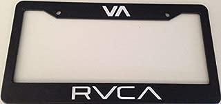Mark Reynolds Va RVCA - Automotive Black License Plate Frame - MMA Fight Style