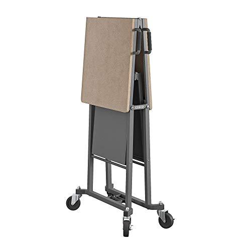 Cosco 66721DKG1E Folding Workbench and Table, Dark Gray